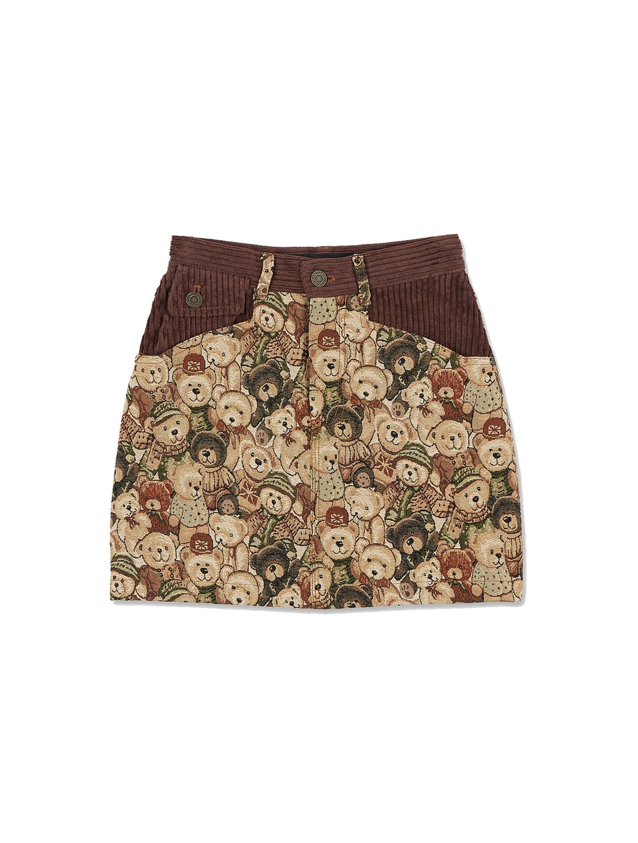 Furry Friends Carpet Skirt [TEDDY BEAR FRIEND]