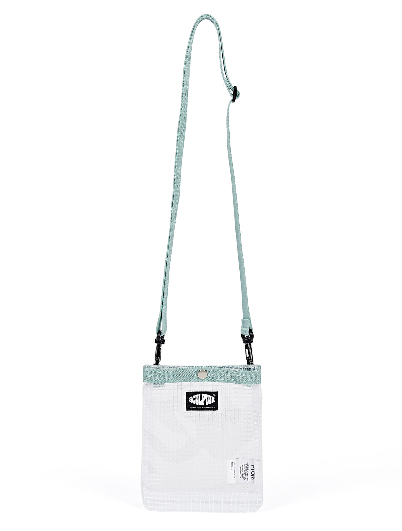 PVC Mini Shoulder Bag [SAGE / CLEAR]